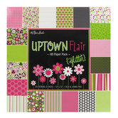 "Uptown Flair Paper Pack - 12"" x 12"""